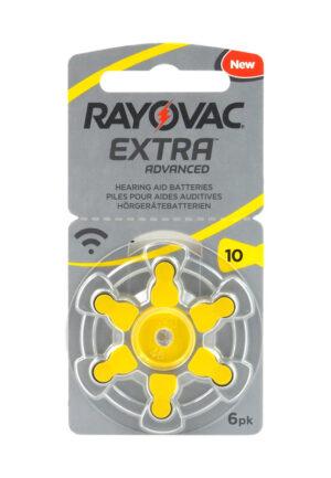 RAYOVAC μπαταρίες ακουστικών βαρηκοΐας 10MF