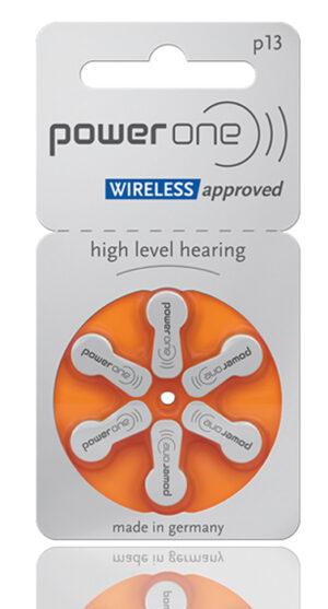 POWER ONE μπαταρίες ακουστικών βαρηκοΐας P13