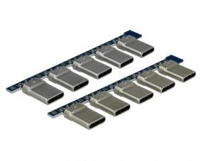 DELOCK Connector USB Type-C Male 65966