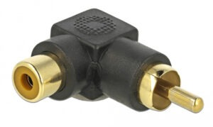 DELOCK Adapter RCA male σε RCA female 66168