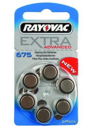RAYOVAC μπαταρίες ακουστικών βαρηκοΐας 675MF