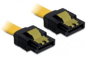 DELOCK Καλώδιο SATA III 7-pin σε 7-pin 82481