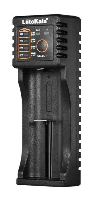 LIITOKALA φορτιστής LII-100B για μπαταρίες NiMH/CD