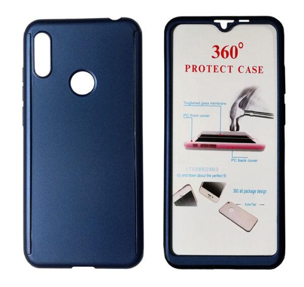 POWERTECH Θήκη Body 360° με Tempered Glass για Huawei Y6/Pro 2019