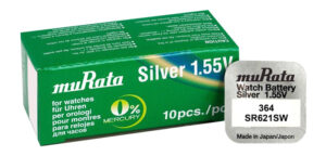 MURATA μπαταρία Silver Oxide για ρολόγια SR621SW