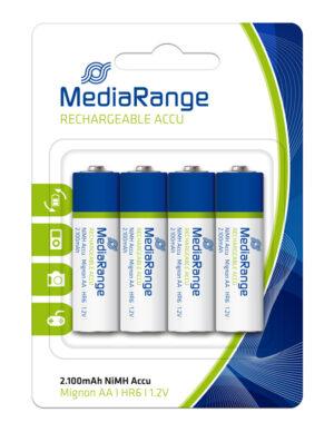MEDIARANGE Accu επαναφορτιζόμενες μπαταρίες AA HR6 Mignon 1.2V