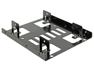 "DELOCK Tray μετατροπής από 3.5"" σε 2x 2.5"""