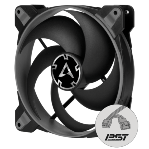 Arctic BIONIX P120 (Grey) - Pressure-optimised 120 mm Gaming Fan with PWM PST - ACFAN00168A