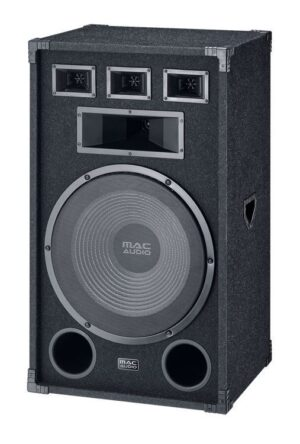 A real spectacle is guaranteed with the Soundforce 3800 3-way bass reflex speaker. - MAC AUDIO