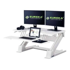 Gaming Table - Eureka Ergonomic® CV-PRO 36 (White) - EUREKA ERGONOMIC