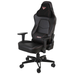 Gaming Chair - EUREKA ERGONOMIC GC-02 Gaming Chair High Back Racing Style Computer Desk Chair Swivel Executive Leather Chair with Lumbar Support & Headrest Black - EUREKA ERGONOMIC
