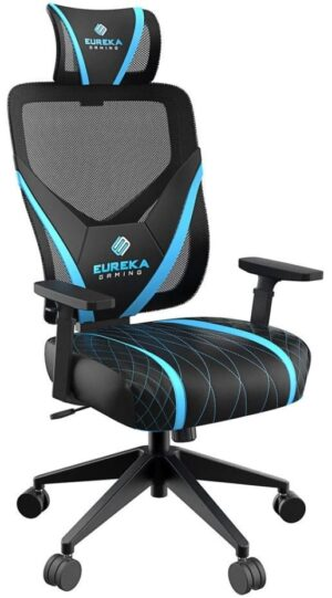 Gaming Chair - Eureka Ergonomic® ONEX GE300-Blue/Black - EUREKA ERGONOMIC