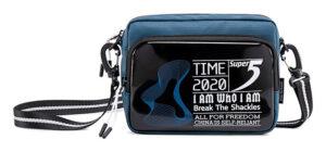 SUPER FIVE τσάντα ώμου K00111-BL