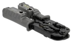 DELOCK εργαλείο πτύχωσης με απογυμνωτή & tester 90510