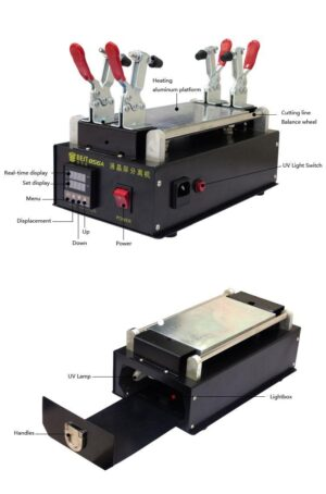 BEST LCD Separator machine