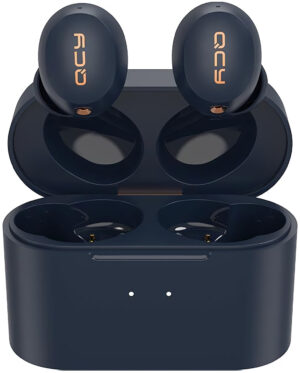 QCY HT01C ANC TWS BLACK Dual Driver 4-mic noise cancel. True Wireless Earbuds - Quick Charge 600mAh - 6957141406670